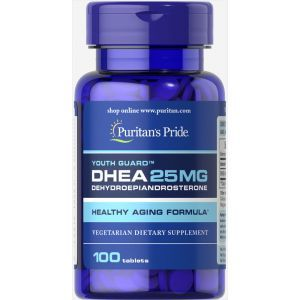 DHA, DHA 25 mg, Puritan's Pride, 25 мг, 100 таблеток