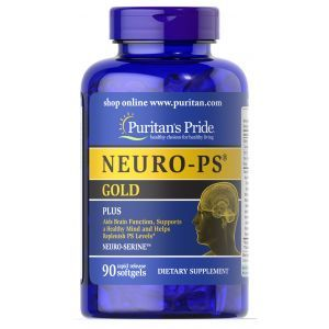 Фосфатидилсерин, Neuro - PS, Gold, Puritan's Pride, 90 капсул
