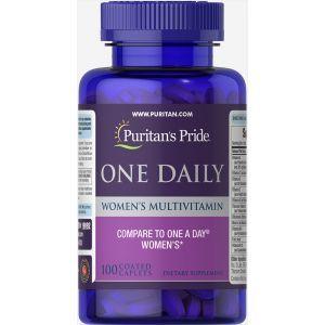 Мультивитамины для женщин, One Daily Women's Multivitamin, Puritan's Pride, 100 капсул