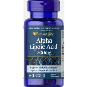 Puritan's Pride, Alpha Lipoic Acid 300 mg 60