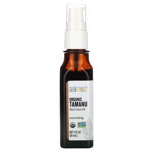 Масло таману, Tamanu Oil, Aura Cacia, питательное, органик, 30 мл