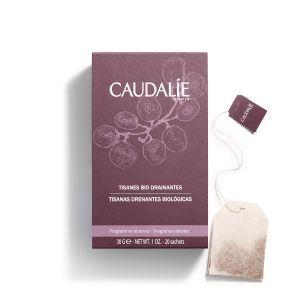 Органический травяной чай, усиливающий детоксикацию, Organic Herbal Tea, Caudalie, 30 гр., 20 пакетиков