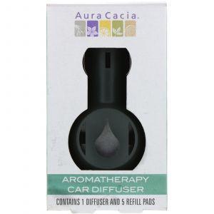 Ароматерапевтический диффузор для машины (Aromatherapy Car Diffuser), Aura Cacia, 1 диффузор (Default)