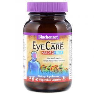Здоровья глаз,Targeted Choice, Eye Care, Bluebonnet Nutrition, 60 капсул