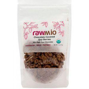 Физалис в шоколаде, Chocolate Covered Golden Berries, Rawmio, 57 г (