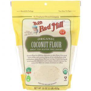 Кокосовая мука, Coconut Flour, Bob's Red Mill, органик, без глютена, 453 г. (Default)