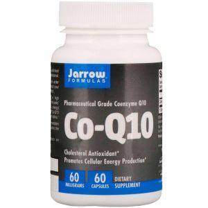 Коэнзим Q10 (Co-Q10), Jarrow Formulas, 60 мг, 60 капсул (Default)