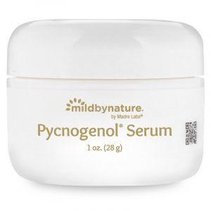 Сыворотка (крем) для лица с пикногенолом, Pycnogenol Serum (Cream), Madre Labs, омолаживающая, 28 г (Default)