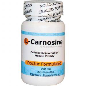 L-карнозин, Advance Physician Formulas, 30 капсул.