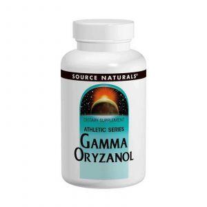 Гамма оризанол, Source Naturals, 60 мг, 100 таб.
