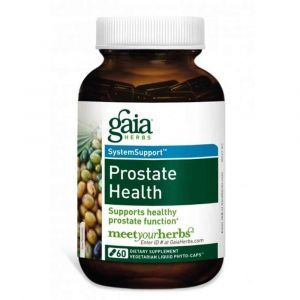 Здоровье простаты, Gaia Herbs, 60 капсул