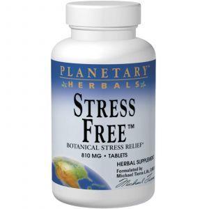 Формула от стресса, Planetary Herbals, 810 мг, 90 т