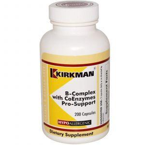 В комплекс с коферментами, Kirkman Labs, 200 кап