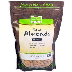 Миндальные орехи, Now Foods, 454