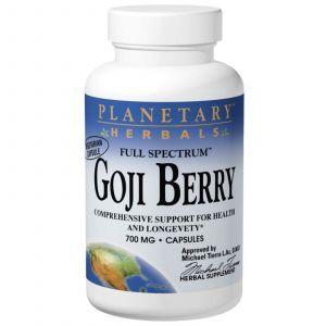 Экстракт Годжи, Planetary Herbals, 700 мг, 180