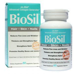 БиоСил, Natural Factors, 60 капсул