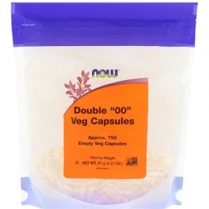 "Пустые капсулы ""00"", Double ""00"" Vcaps, Now Foods, 750 капсул (Default)"