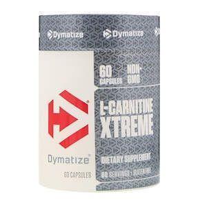 Карнітин фумарат, L-Carnitine Xtreme, Dymatize Nutrition, 60 капсул