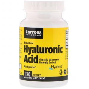 Гиалуроновая кислота, Hyaluronic Acid, Jarrow Formulas, 50 мг, 120 кап. (Default)