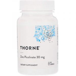 Цинк пиколинат усиленный, Zinc Picolinate, Thorne Research, 60 капсул (Default)