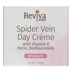 Денний крем для вен з вітаміном Р, Spider Vein, Reviva Labs, 42 г
