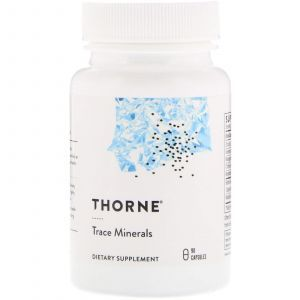 Мікроелементи, Trace Minerals, Thorne Research, 90 капсул