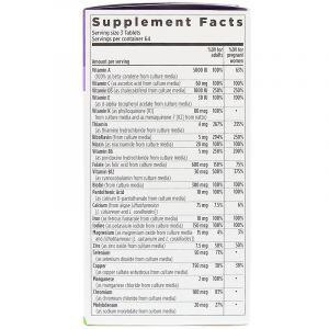 Витамины для беременных, Prenatal Multivitamin, New Chapter, 192 таблетки (Default)