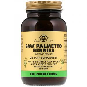 Со Пальметто, Saw Palmetto Berries, Solgar, ягоды, 100 капсул (Default)