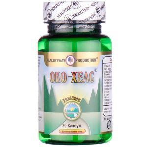 Око-хелс, Oko-health, Healthyway Production Inc, для глаз, 30 капсул