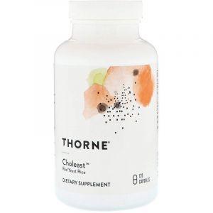 Красный дрожжевой рис, Thorne Research, 120 капсул (Default)