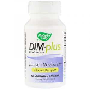 Метаболизм эстрогенов, DIM-plus, Estrogen Metabolism, Nature's Way, 120 капсул