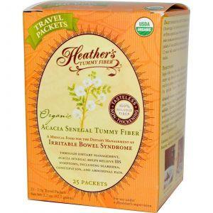 Волокна акации, Heather's Tummy Care, 25 пакетов