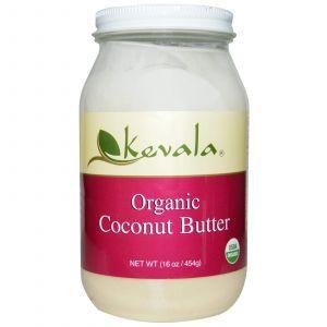 Кокосовое масло, Coconut Butter, Kevala, 454 г.