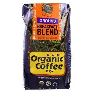 Молотый кофе, Ground Coffee, Organic Coffee Co, 349 г