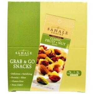 Ореховый микс с клюквой, Trail Mix, Sahale Snacks, 9 паетов по 42,5 г