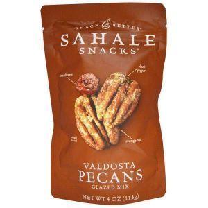 Орехи пекан в глазури, Pecans Glazed Mix, Sahale Snacks,4 унции 113 г,