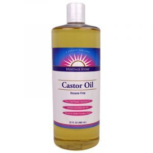 Касторовое масло, Castor Oil, Heritage Products, 960 мл