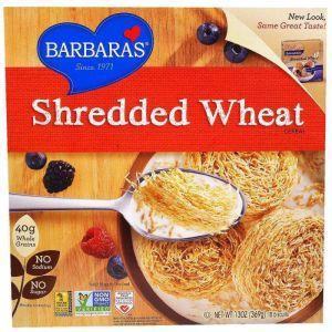 Печенье из цельного зерна, Shredded Wheat, Barbara's Bakery, 18 шт., 369 г