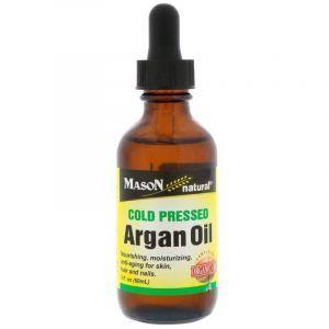 Аргановое масло холодного отжима, Argan Oil, Mason Vitamins, органик, 60 мл
