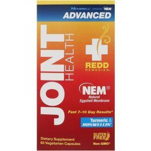 Здоровье суставов, Joint Health Advanced, Redd Remedies, 60 вегетарианских капсул