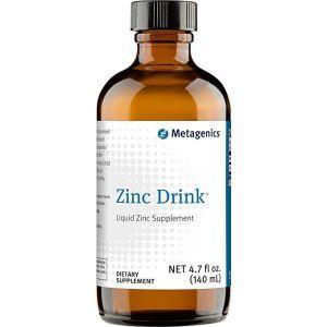 Цинк, Zinc Drink, Metagenics, жидкость, 140 мл