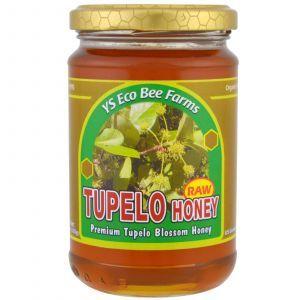 Неочищенный ниссовый мёд, Raw Tupelo Honey, Y.S. Eco Bee Farms, 383 г