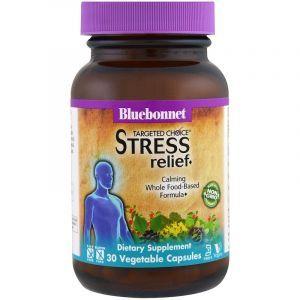 Стресс формула, Stress Relief, Bluebonnet Nutrition, Targeted Choice, 30 капсул (Default)