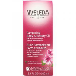 Масло розы для тела, Body Oil, Weleda, 100 мл