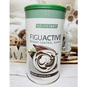 Figu Active протеиновый коктейль для контроля веса, LR Lifetakt, шоколадный вкус, 450 г