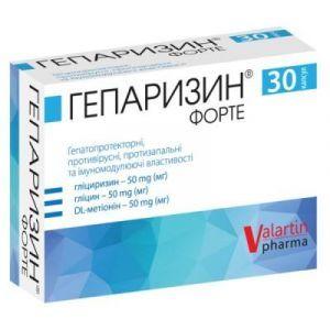 Valartin Pharma, Гепаризин Форте, 30 капсул