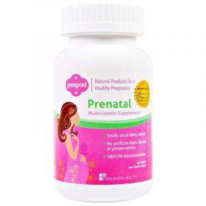 Витамины для беременности, Prenatal Mutlivitamin, Fairhaven Health, 60 таб. (Default)