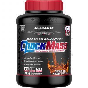 Высокопротеиновая добавка для набора массы, QuickMass, ALLMAX Nutrition. 2,72 кг (Default)
