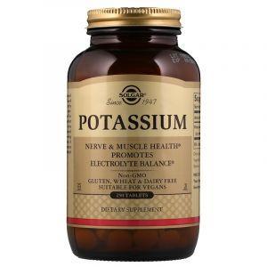 Калий, Potassium, Solgar, 250 таблеток (Default)