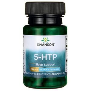 5-HTP экстра сила, 5-HTP Extra Strength, Swanson, 100 мг, 60 капсул